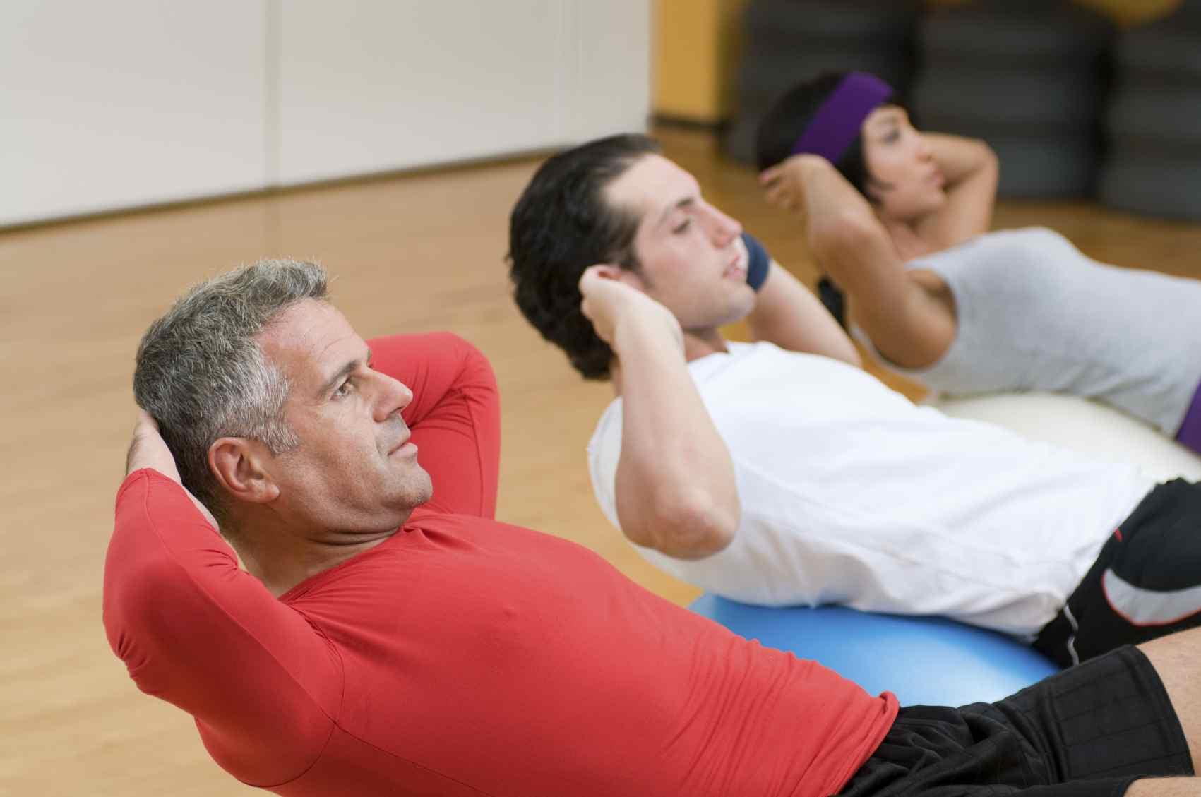 Voer een oefening altijd langzaam en correct uit!